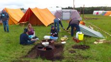 Spejdernes Lejr 2012 - Klow´s nye køkken den næste uge