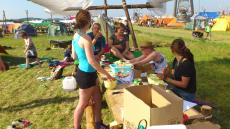Spejdernes Lejr 2012 - Tid til aftensmad