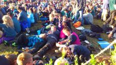 Spejdernes Lejr 2012 - afslutningsbål