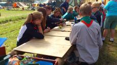 Spejdernes Lejr 2012 - Projekt dampmølle i Klow lejren